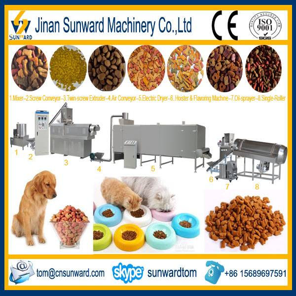 Automatic Dry Dog Pellet Making Machine