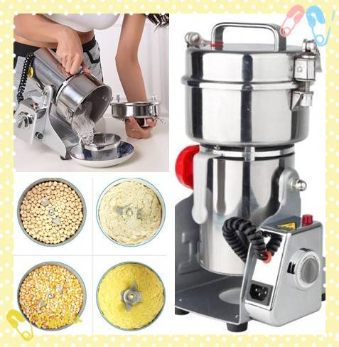 Shaking Head Type Herb Mill Machine