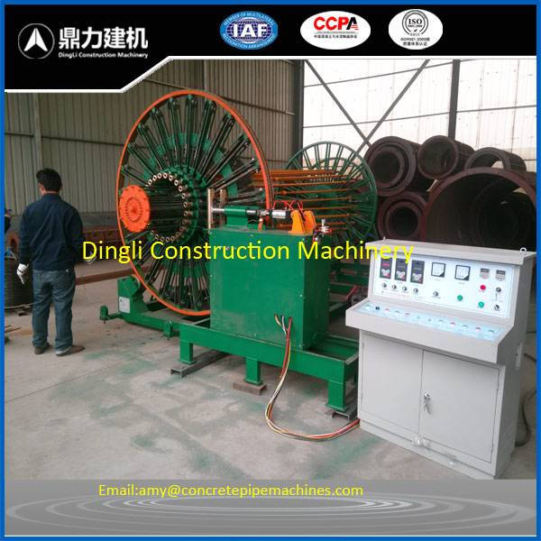 HGZ wire cage welding machine for concrete pipe making