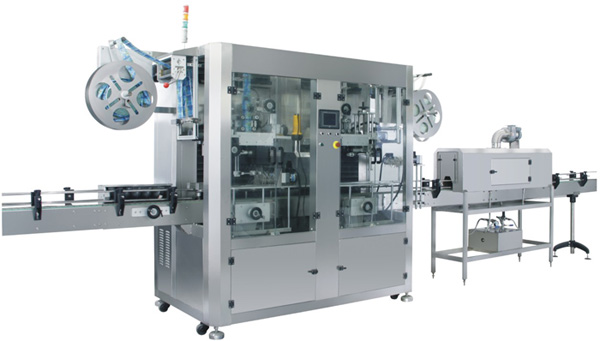 Automatic Sleeve PVC Labeling Machine -Double Labeling head
