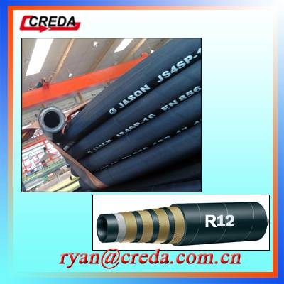Hydraulic Hose SAE R12 En 856high Quality Rubber Hose