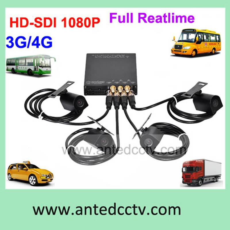 1080p SD card H.264 DVR Mobile Port Bus DVR for vehicles security system