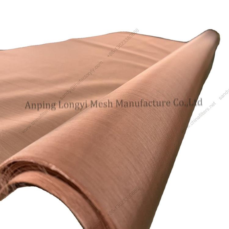100 180 200 250 mesh faraday cage screen room pure copper wire mesh for emi shielding