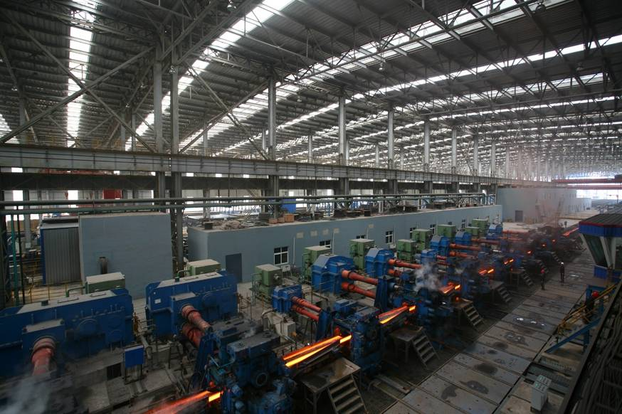 Angal Steel, I Beam, H Beam, U Bar/ Channel Beam, Other Section Steel Production Line