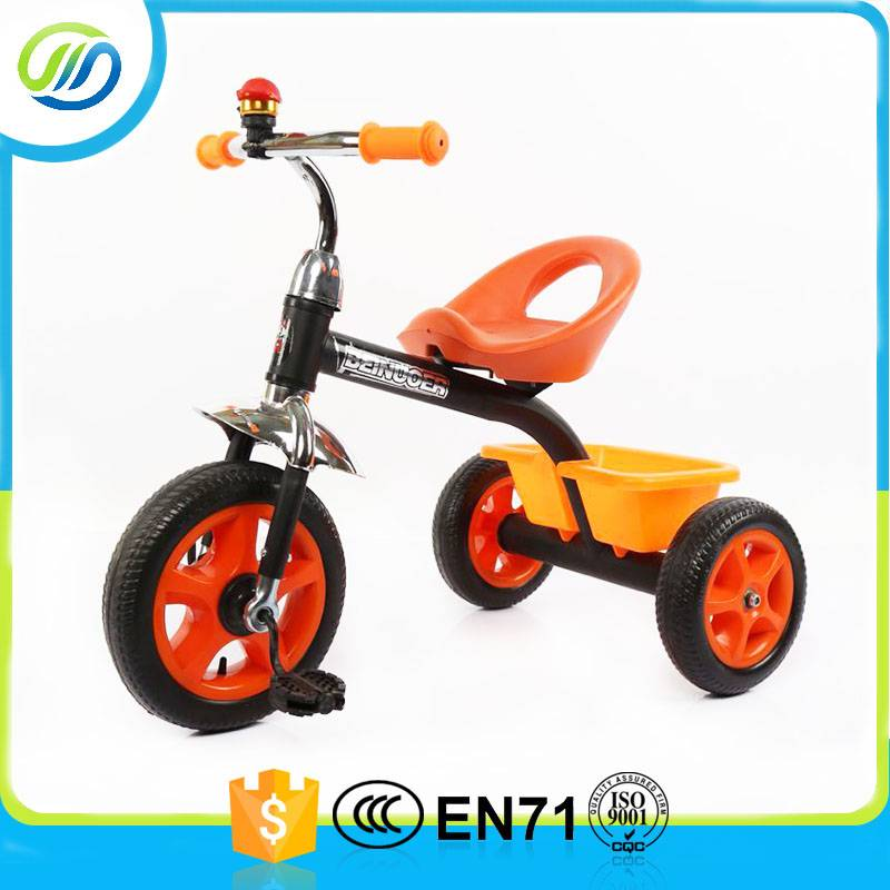 Color painting child tricycle with bell