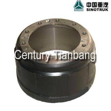 SINOTRUK HOWO TRUCK PARTS BRAKE DRUM