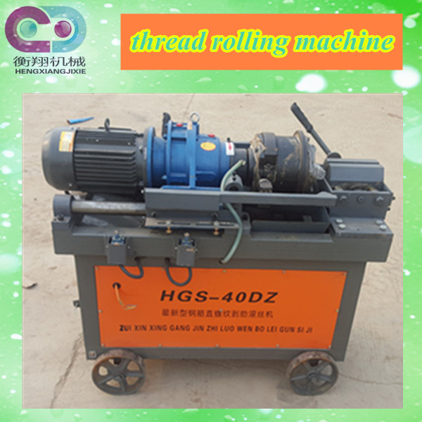 rebar thread rolling machine with high quality