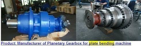 PLATE BENDING ROLL  PLANETAR GEARBOX