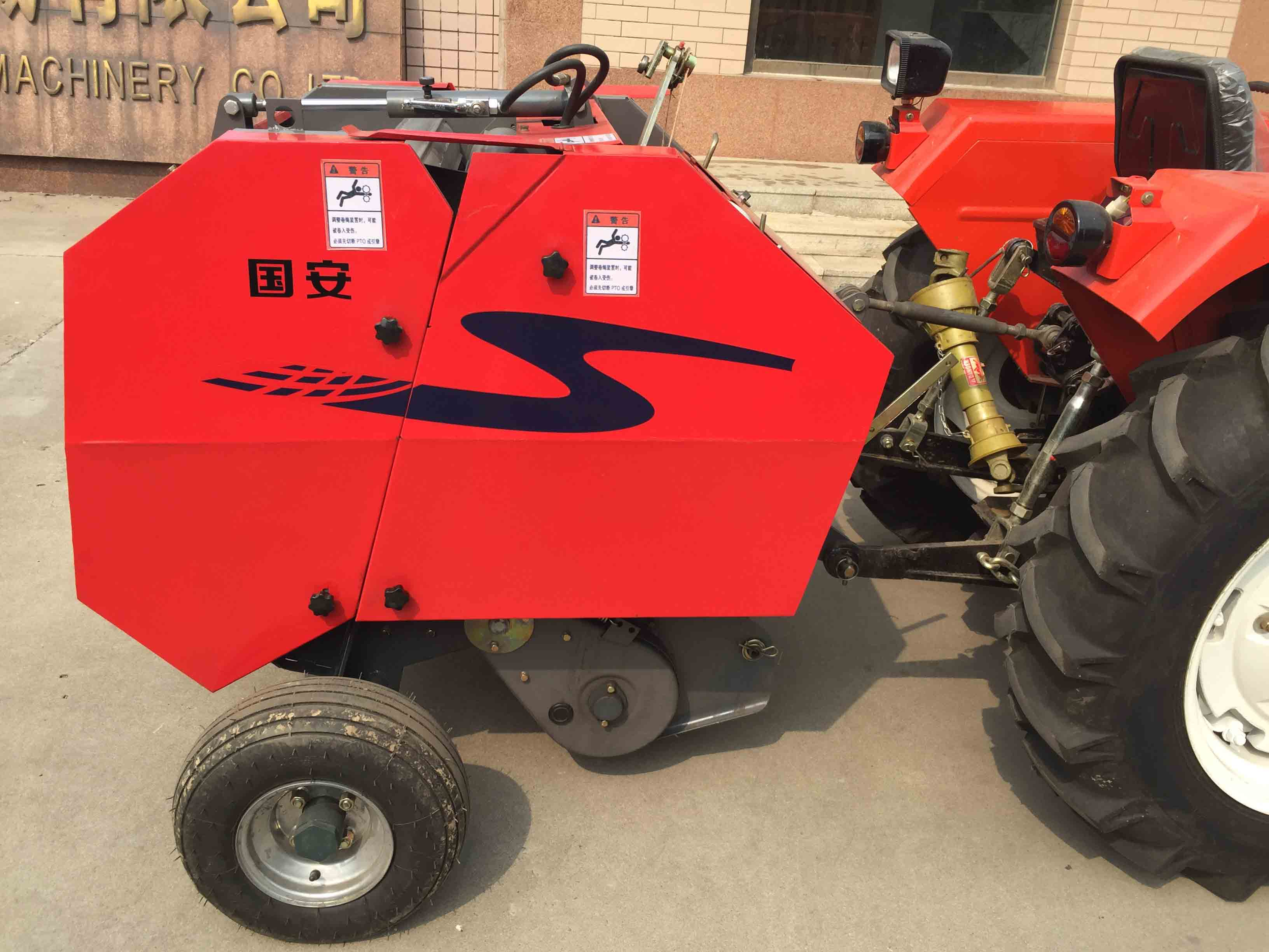 Wheat straw Trusser machine with Tractor mounted