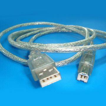 Male to Male USB Cable, Used in Keyboard, Mouse, Game Rocker, Monitor, Scanner and Printer
