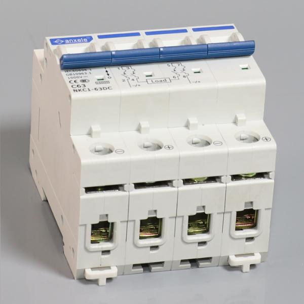 NKC1-63 1P,2P,3P,4P DC Circuit Breakers