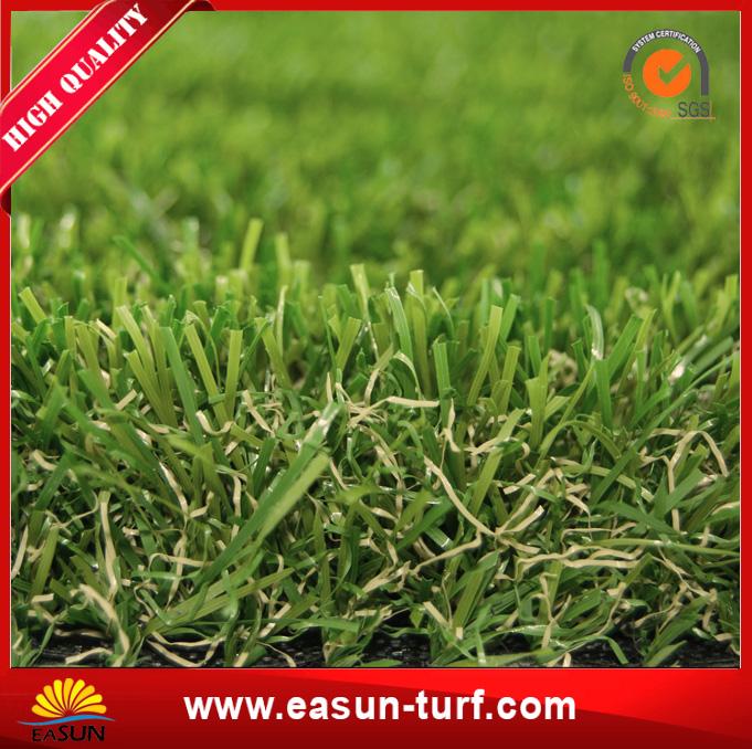 Easy Interlocking high Density PE Artificial Grass Tile-AL