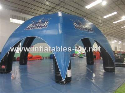 Inflatable Spider Air Canopy Tent with Printed Graphics