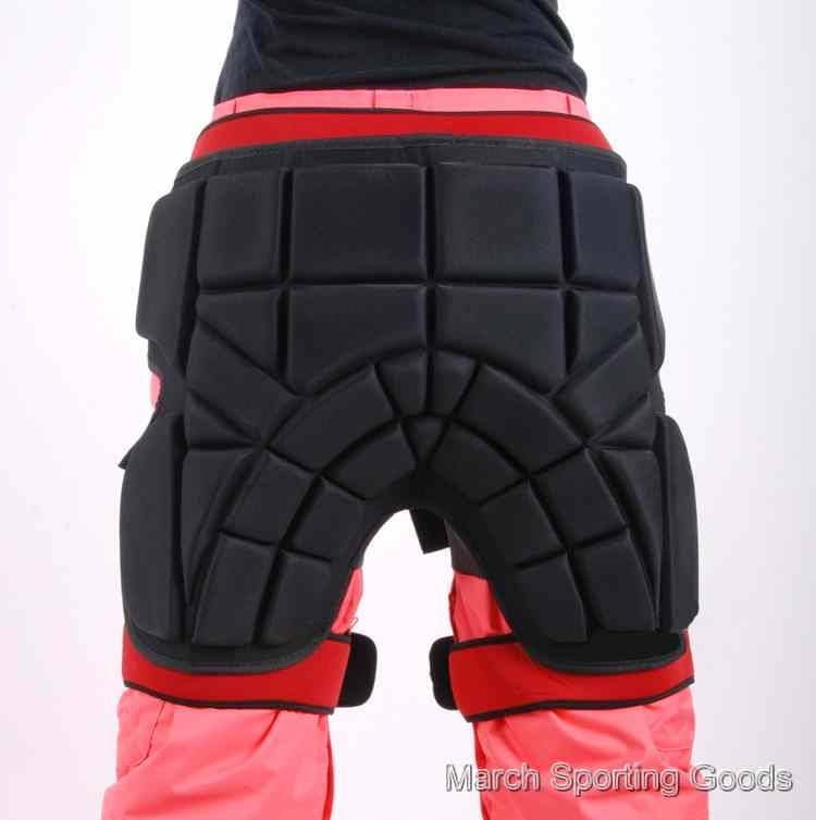 Wrap Around Thick Hip Pads Crash Impact Padded Shorts
