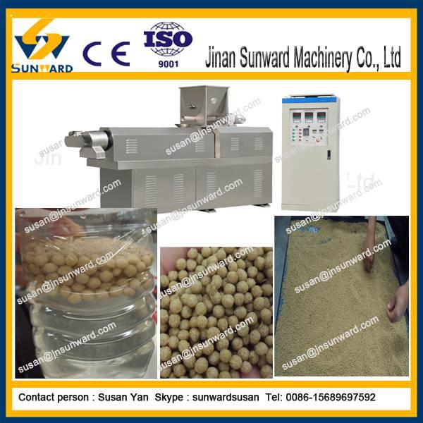 Hot selling automatic bulking machine type floating fish feed extrusion
