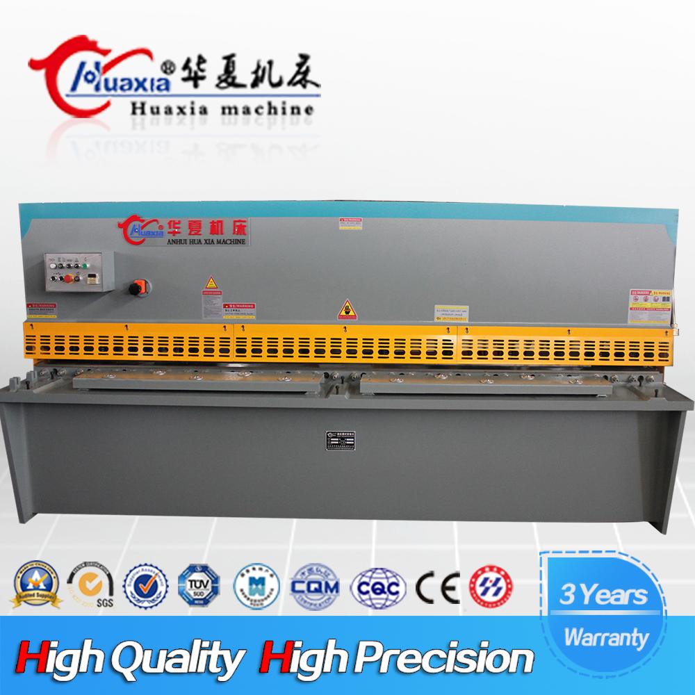 China Made QC12Y 4mm 2500mm Hydraulic Shearing Machine