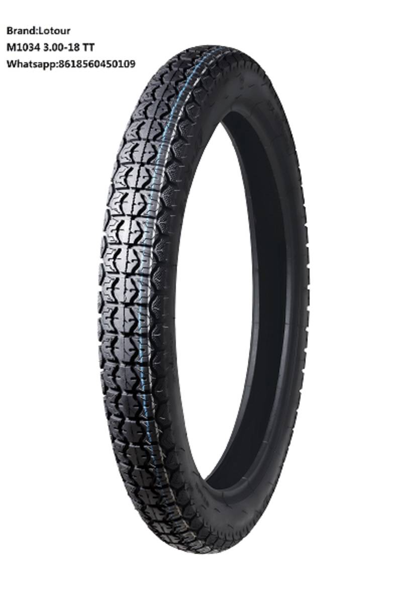 Motorcycle Tire 3.00-18 TT/TL