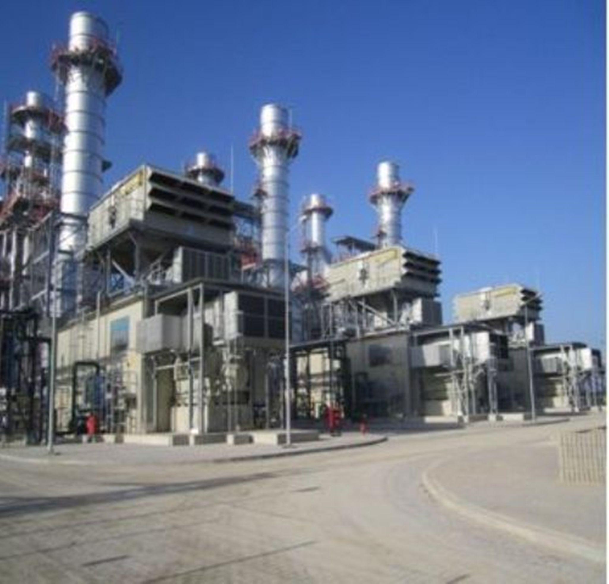 200 MW Siemens SGT-800 Gas Turbine Power Plant