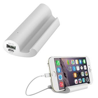 mini mobile phone holder power bank for gift market