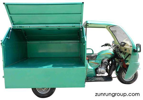ZR200ZH-LJ 200cc air-cooled  environmental clean cargo motor tricycle