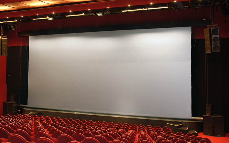 180 Inch Electric Projector Screen/Motorized Projection Screen Remote Control
