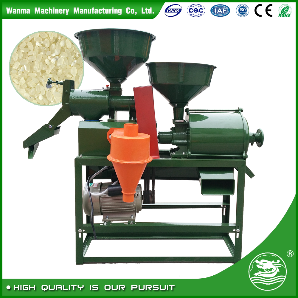 WANMA 6N40-6FP180M Wheat Flour mill Rice Milling Machine