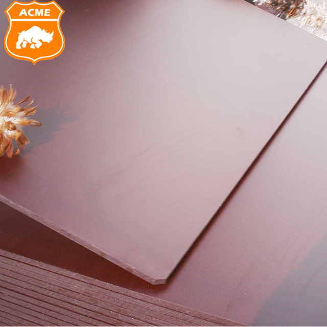 18mm Heat Resisting and Waterproof Brown Film Faced Plywood For Construction