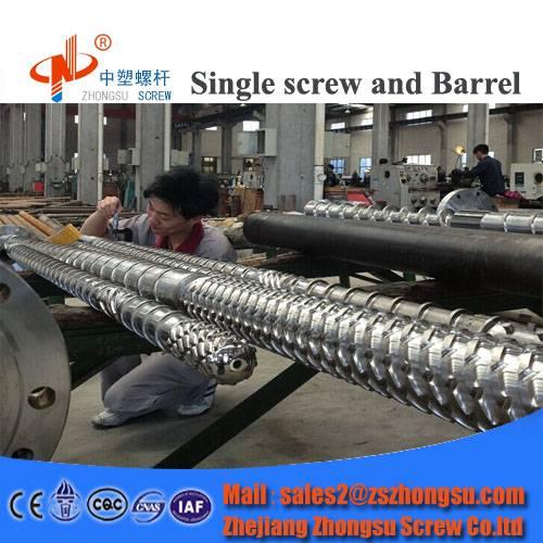 plastic extruder screw barrel for film blowing machine