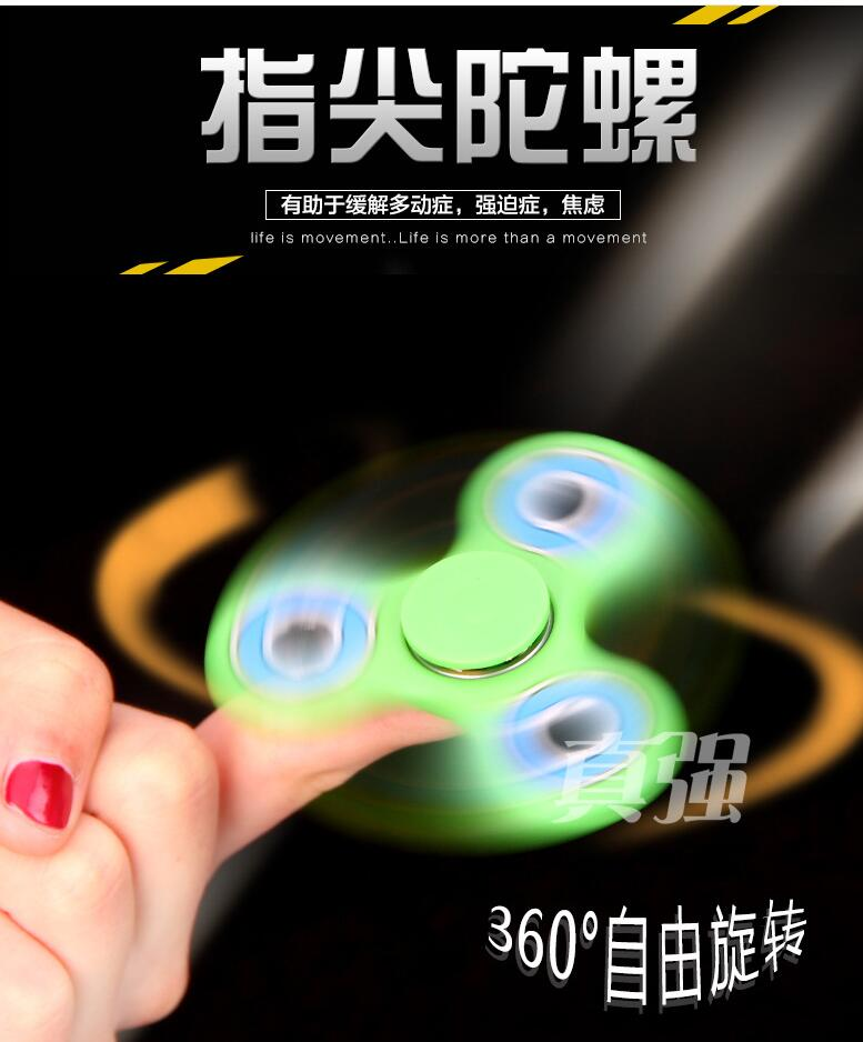 Hot Prodcut New Fingertips Spiral Hand Gyroscope