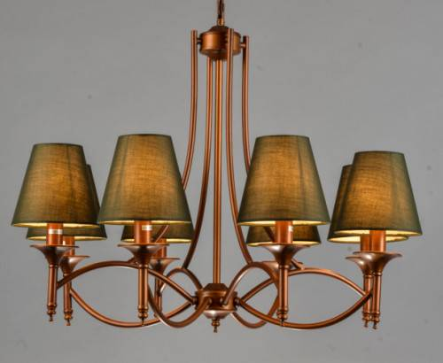 Cloth art wall lamp pendant lamp America style