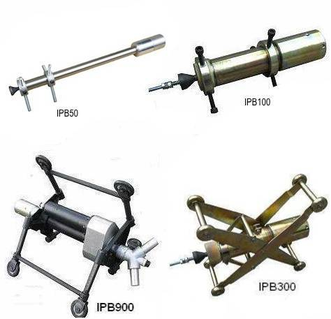 Internal pipe cleaning tools