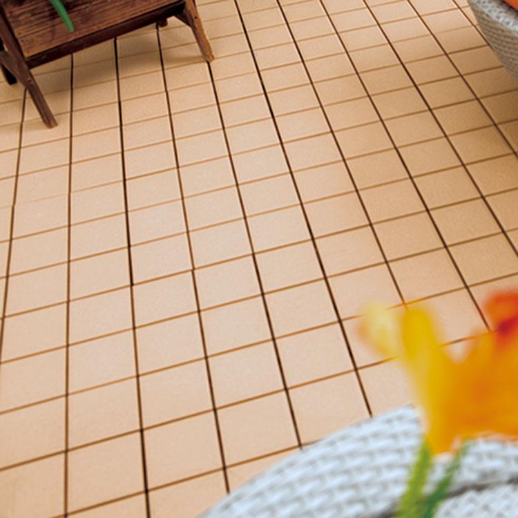 30x30cm non slip roofing glazed white ceramic interlocking flooring tile design in cheap price by Ch