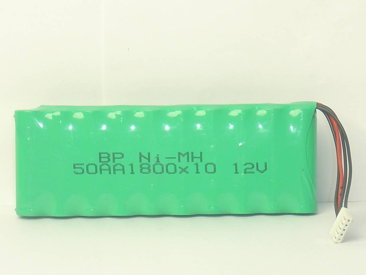 12V 49AA1800*10 Nimh battery pack