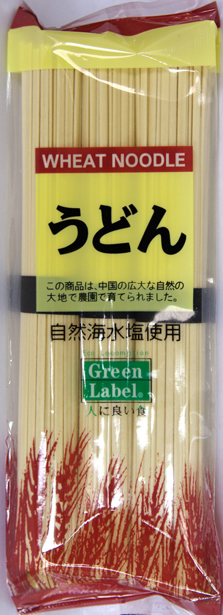 Udon Noodle in Green Label