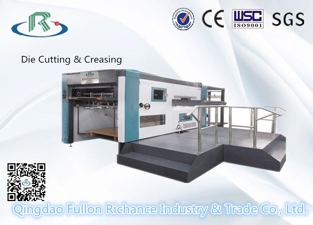 Flatbed Semi-Automatic Carton Box Creasing Die Cutting Machine