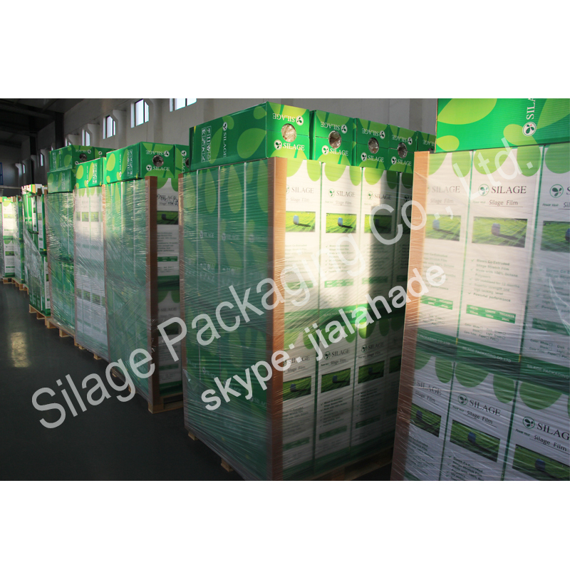 Germany Standard Silage Film, Hot Sale Packing Film for Grass, Agriculture Packing Plastic Film