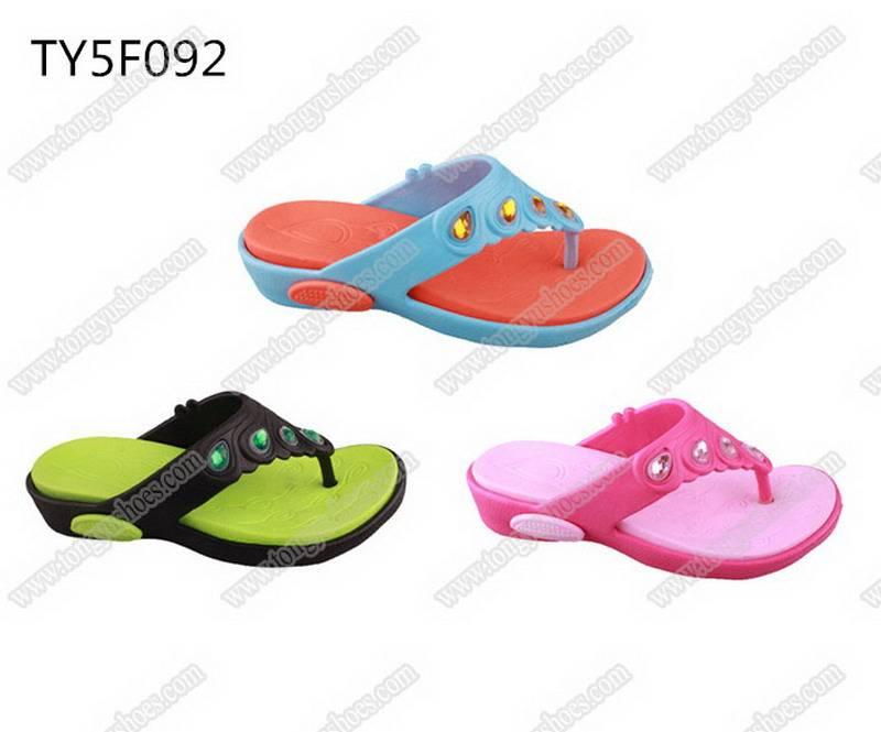 stylish trendy rhinestones upper women eva slippers