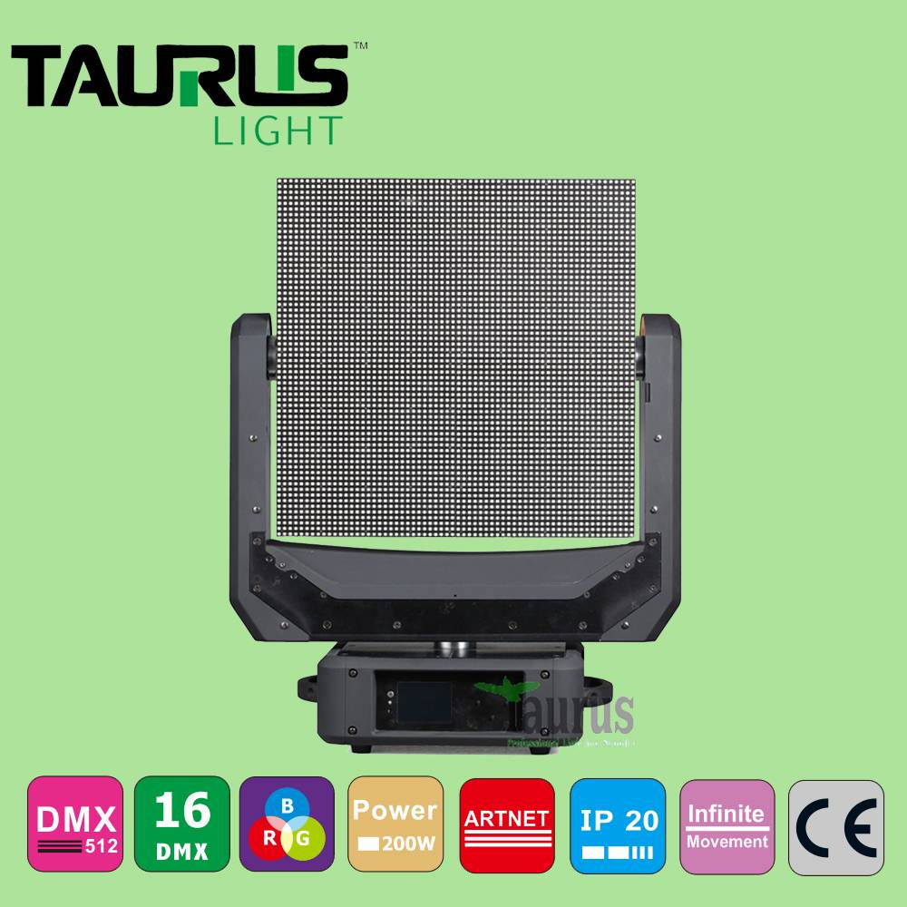 Newest LED Stage Light Moving Head Lighting GVP4096