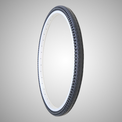 24x1.5 black bicycle tire from factory