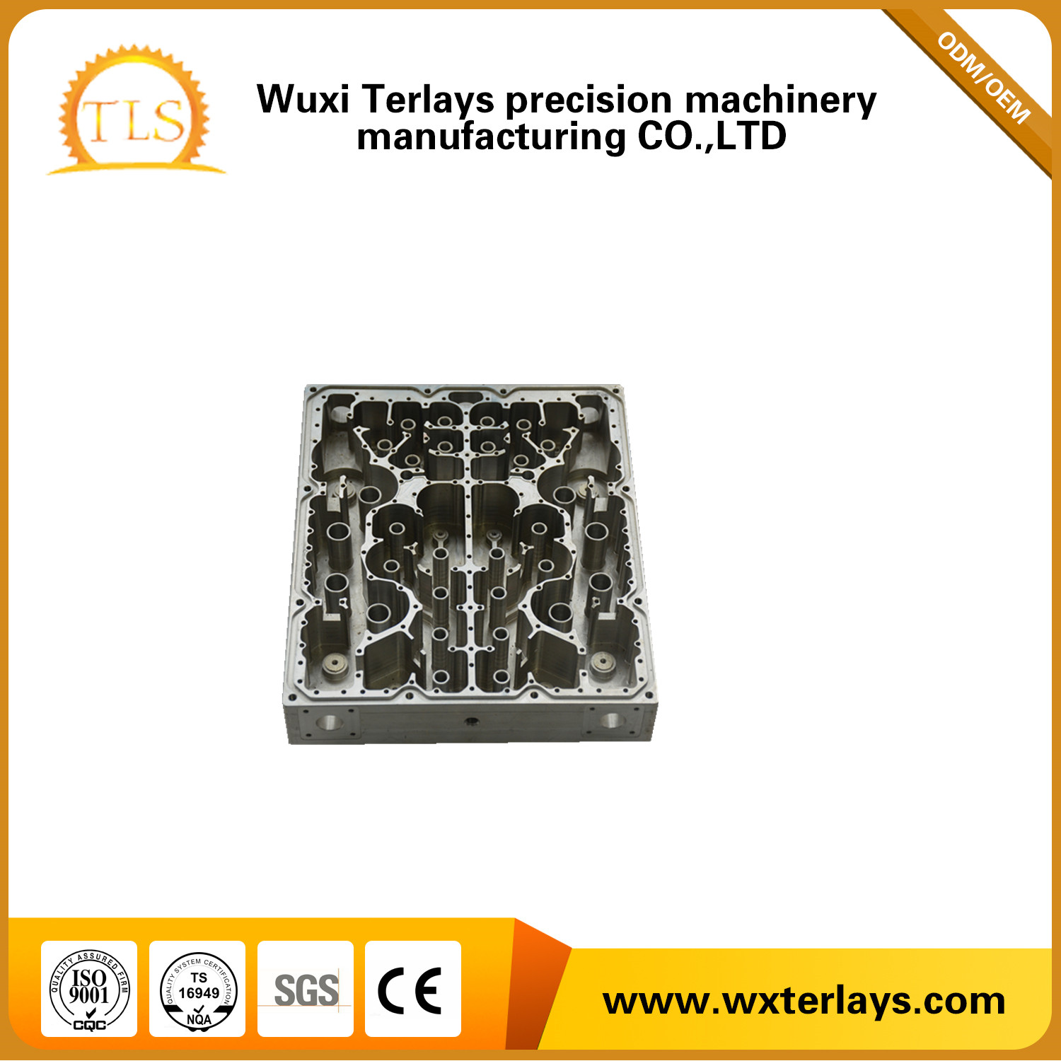 Customize Aluminum Die Casting Parts for Communication Part
