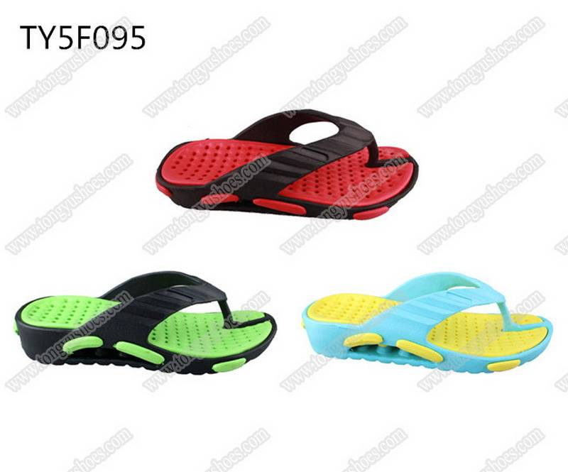 fashion nude air cushion sole men's comfort wearing eva slippers