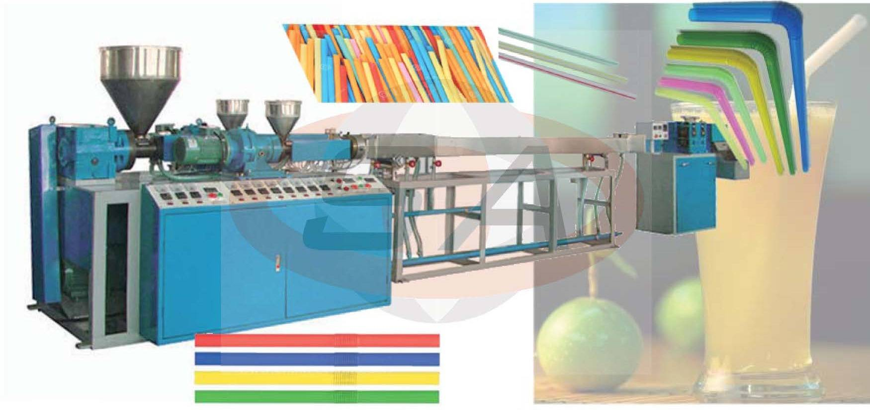 Drinking Straw Extrusion Line