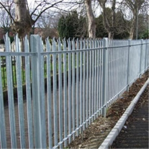 steel security palisade fence gates
