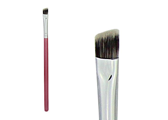 Three Colours Synthetic Eyebrow Makeup Brush