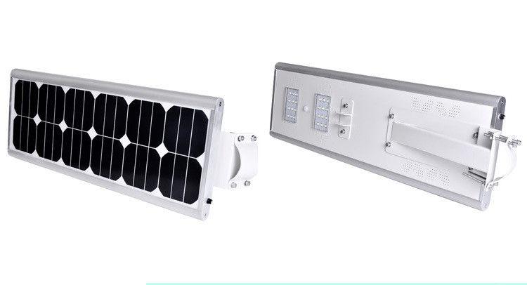 LiFePO4 Battery PIR Motion Wireless Led Solar Street Lights 60w , ROHS