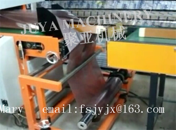 Ultrasonic automatic film welding bagging machine and heat transfer oven