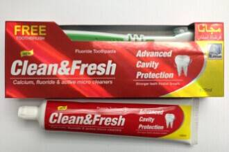 Hot sale toothpaste in the market now