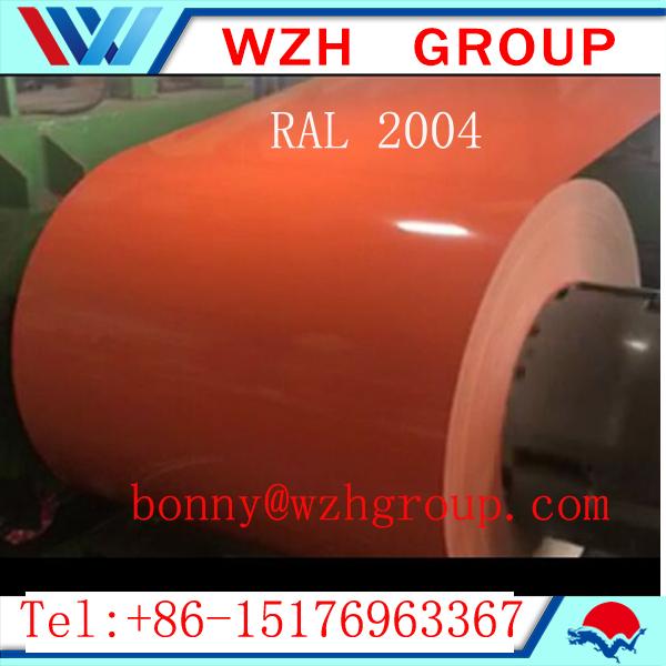 PPGI steel coil to Iran