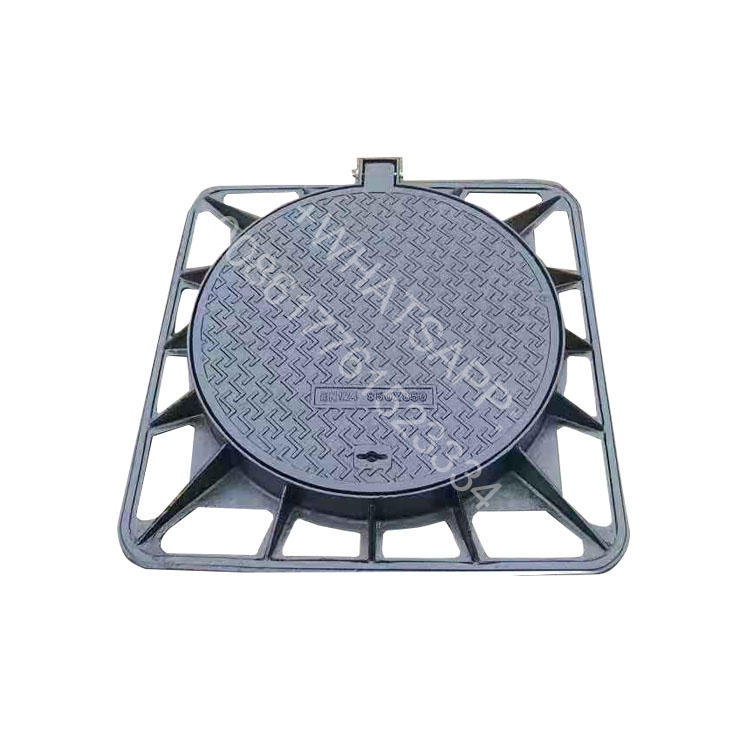 Iron Material and rain water drainage Application ductile iron manhole covers