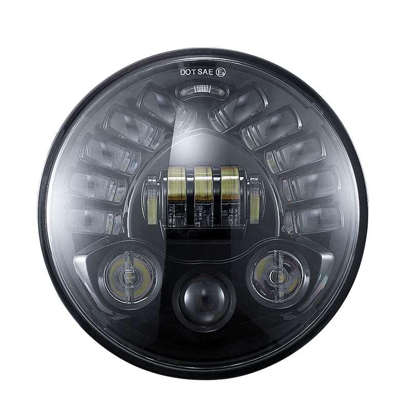 ALP New Kind Hi/Lo Beam 7 inch Led Headlight 7 inch led headlight with G-sensor turning function